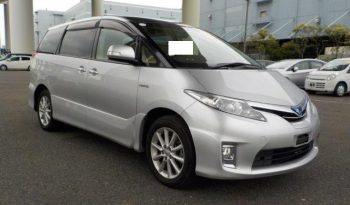Toyota Hybrid Estima 2013(63) 8 Seats 2 Keys MPV Double Sunroof